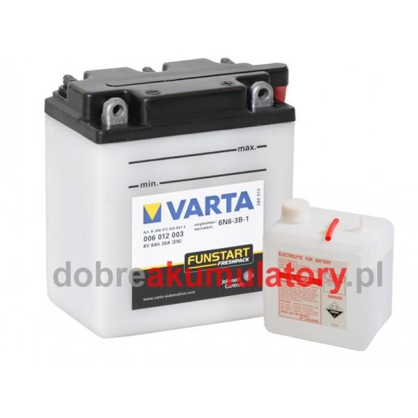 VARTA 6N6-3B-2 6V/ 6Ah