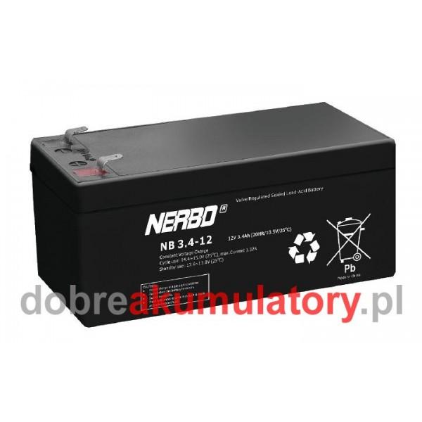 NERBO 12V/3.4Ah