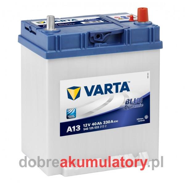 VARTA BLUE DYNAMIC 40Ah P+ STOPKA