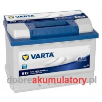 VARTA BLUE DYNAMIC 74Ah L+