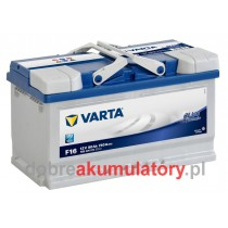 VARTA BLUE DYNAMIC 80Ah F16 (190mm)