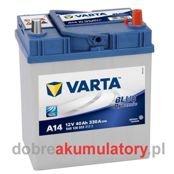 VARTA BLUE DYNAMIC 40Ah P+