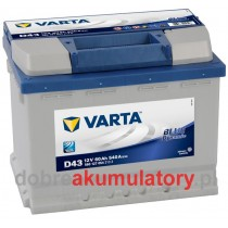 VARTA BLUE DYNAMIC 60Ah L+
