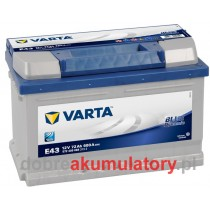 VARTA BLUE DYNAMIC 72Ah