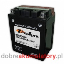 DEKA SPORTS POWER YTX14AHL-BS 12V/14Ah