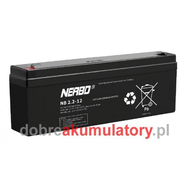 NERBO 12V/2.2Ah