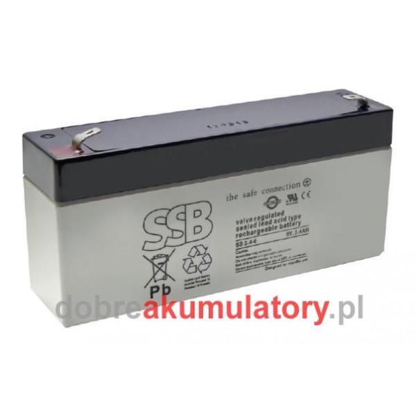 SSB SB 6V/ 3.4Ah