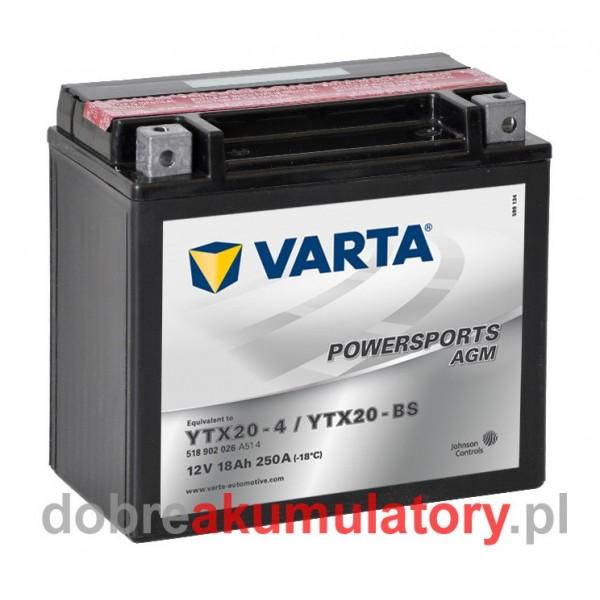 VARTA YTX20-BS 12V/18Ah