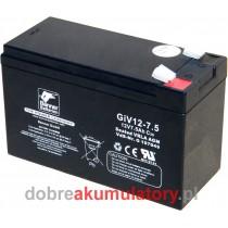 BANNER GiV 12-7.5 12V/7.5Ah