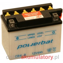 AKUMULATOR POWERBAT CB4L-B 12V / 4Ah