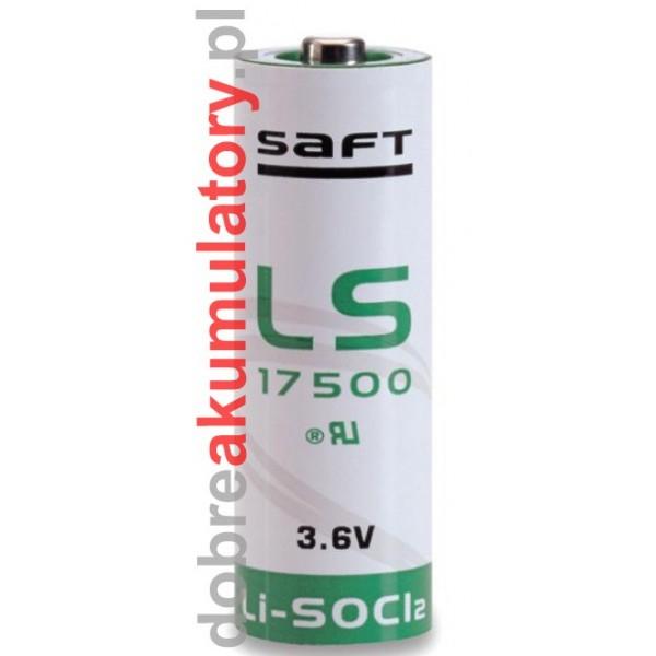 Bateria litowa SAFT LS17500 3.6V - 3.6Ah