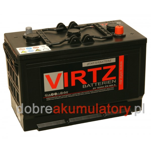 AKUMULATOR 6V / 165Ah VIRTZ