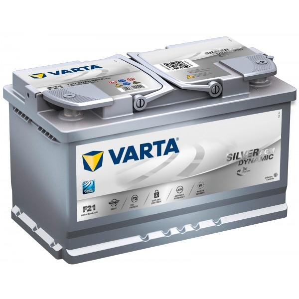 AKUMULATOR VARTA START- STOP PLUS 12V/80Ah