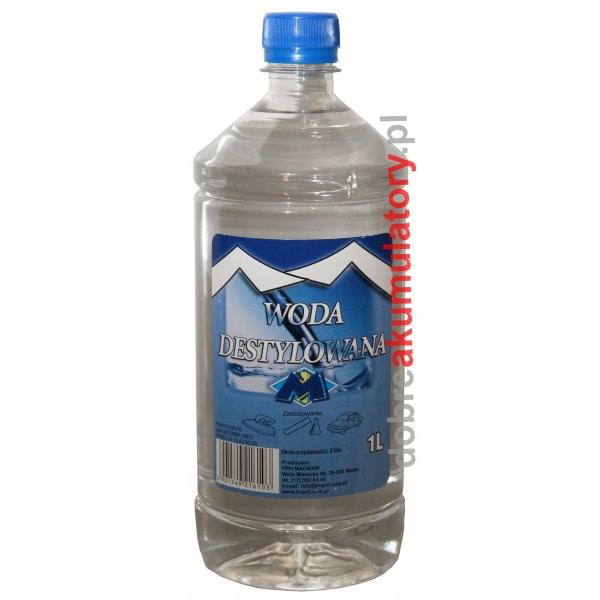 Woda Destylowana 1000ml 1L MAGMAR