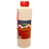 Elektrolit akumulatorowy kwas siarkowy 1000 ml 1L IMPOL