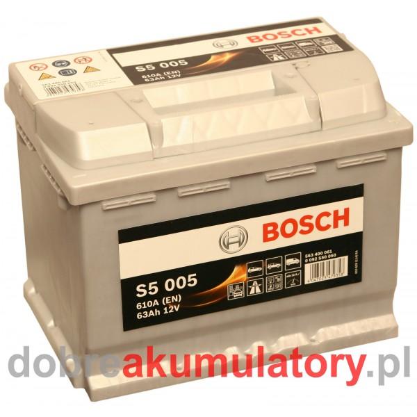 BOSCH S5 005 12V/63Ah