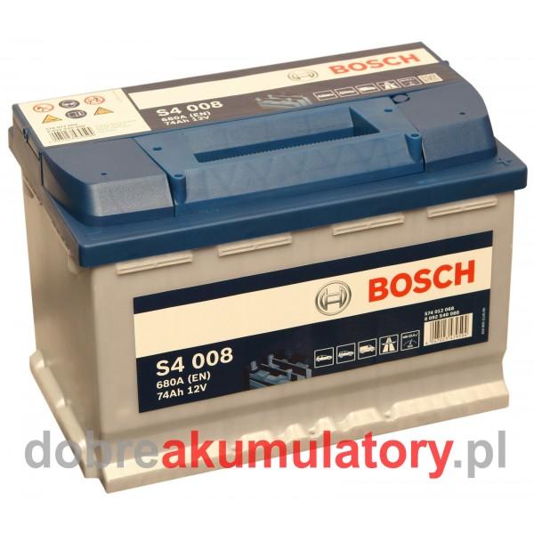 BOSCH S4 008 12V/74Ah