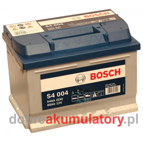 BOSCH S4 004 12V/60Ah