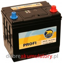 BAREN PROFI 12V/ 60Ah D23 JAPOŃCZYK P+