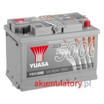 YUASA YBX5096 12V/80Ah P+