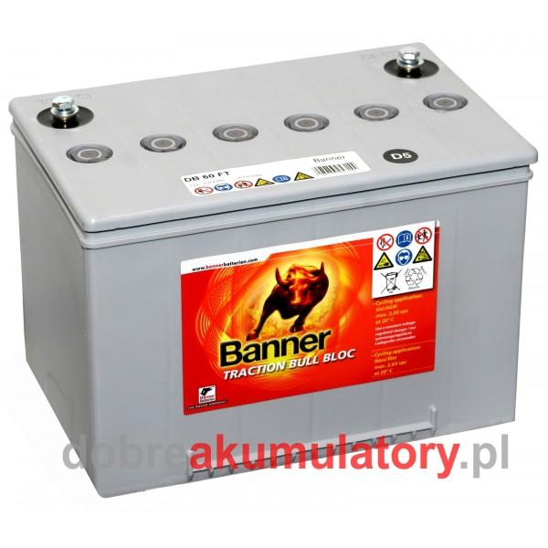BANNER DRY BULL DB 60 FT 12V/60Ah