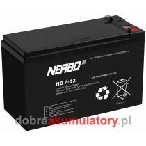 NERBO NB 12V/7Ah