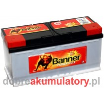 AKUMULATOR BANNER POWER BULL PROFESSIONAL 12V/110Ah