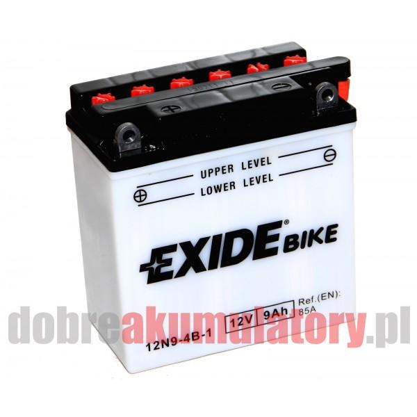 EXIDE 12N9-4B-1 12V/9Ah 85A