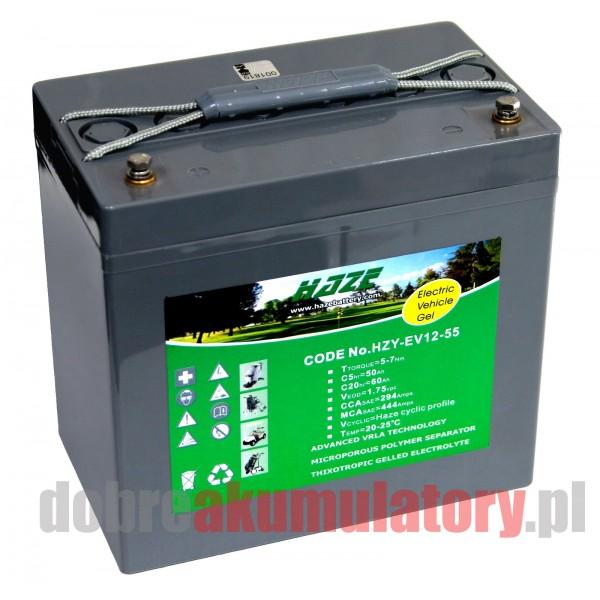 HAZE HZY-EV12-55 12V/60Ah GEL