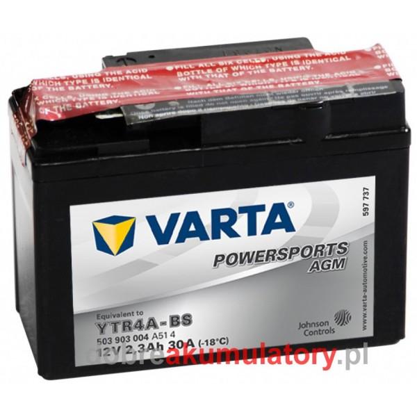 VARTA YTR4A-BS 12V/3Ah