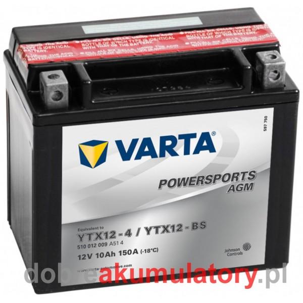 VARTA YTX12-BS 12V/10Ah