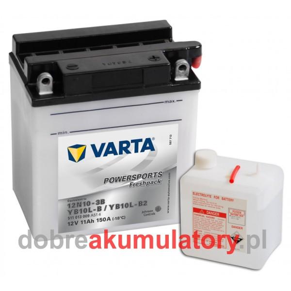 VARTA YB10L-B2 12V/ 11Ah 12N10-3B