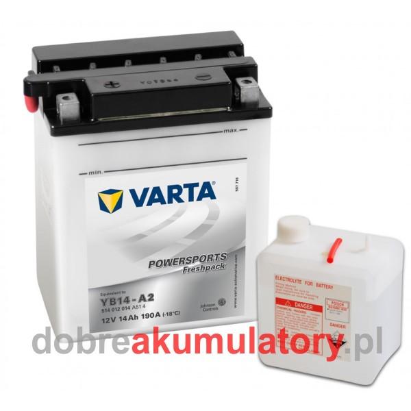 VARTA YB14-A2 12V/ 14Ah