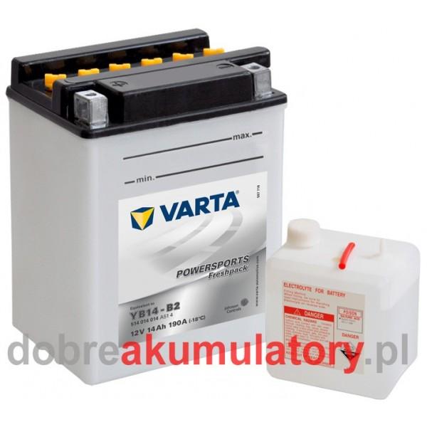 VARTA YB14-B2, 12V/14Ah