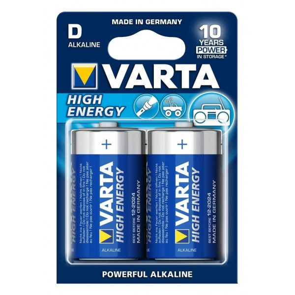Varta High Energy LR20 D BLISTER 2szt