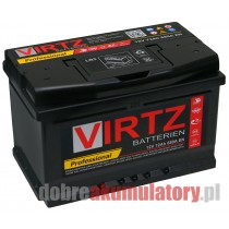 AKUMULATOR VIRTZ PROFESSIONAL 12V/72Ah EFB START-STOP