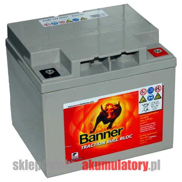 BANNER AGM 50 12V/50Ah BULL BLOC