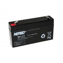 NERBO NB 6-1.3 6V 1,3Ah