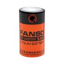 Bateria litowa FANSO ER34615M (Saft LSH20)