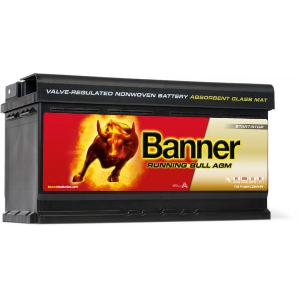 AKUMULATOR BANNER AGM START - STOP 12V/92Ah