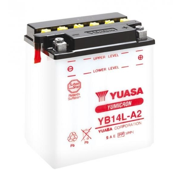 AKUMULATOR YUASA YB14L-A2 12V/14Ah 175A
