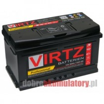 AKUMULATOR VIRTZ PROFESSIONAL 12V/80Ah EFB START-STOP