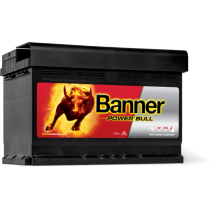 AKUMULATOR BANNER POWER BULL 12V/72Ah