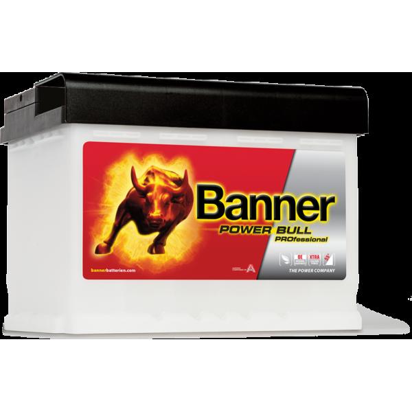 AKUMULATOR BANNER POWER BULL PROFESSIONAL 12V/63Ah