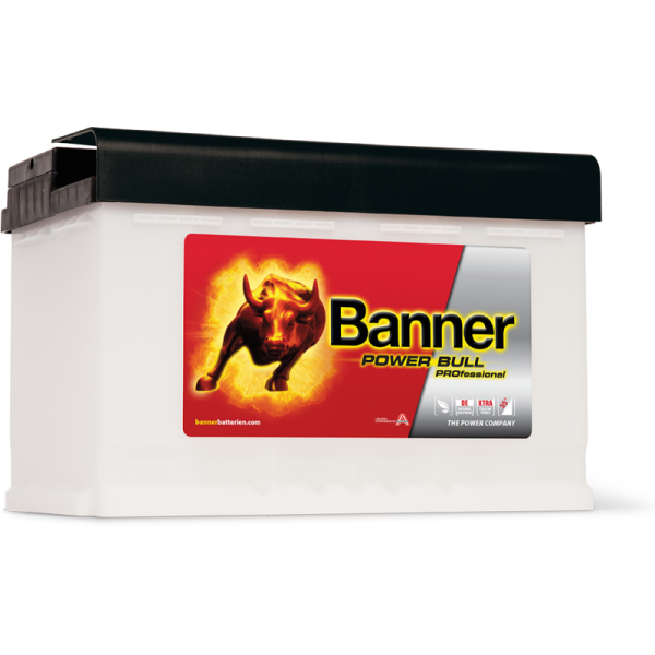 AKUMULATOR BANNER POWER BULL PROFESSIONAL 12V/75Ah