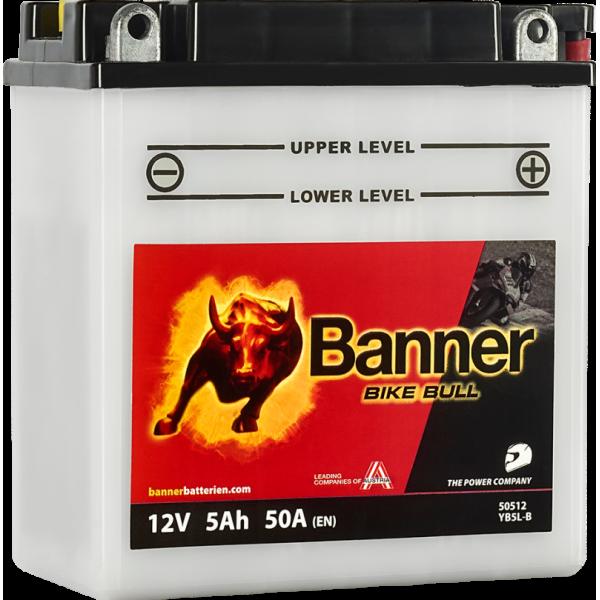 BANNER BIKE BULL YB5L-B 12N5-3B 12V / 5Ah