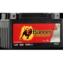 BANNER BIKE BULL YTX7A-BS 12V / 6 Ah