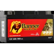 BANNER BIKE BULL YT7B-BS 12V / 6 Ah