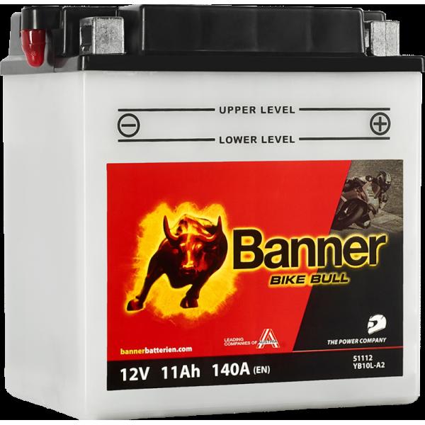 BANNER BIKE BULL YB10L-B 12V / 11Ah