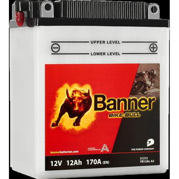BANNER BIKE BULL YB12AL-A2 12V / 12Ah